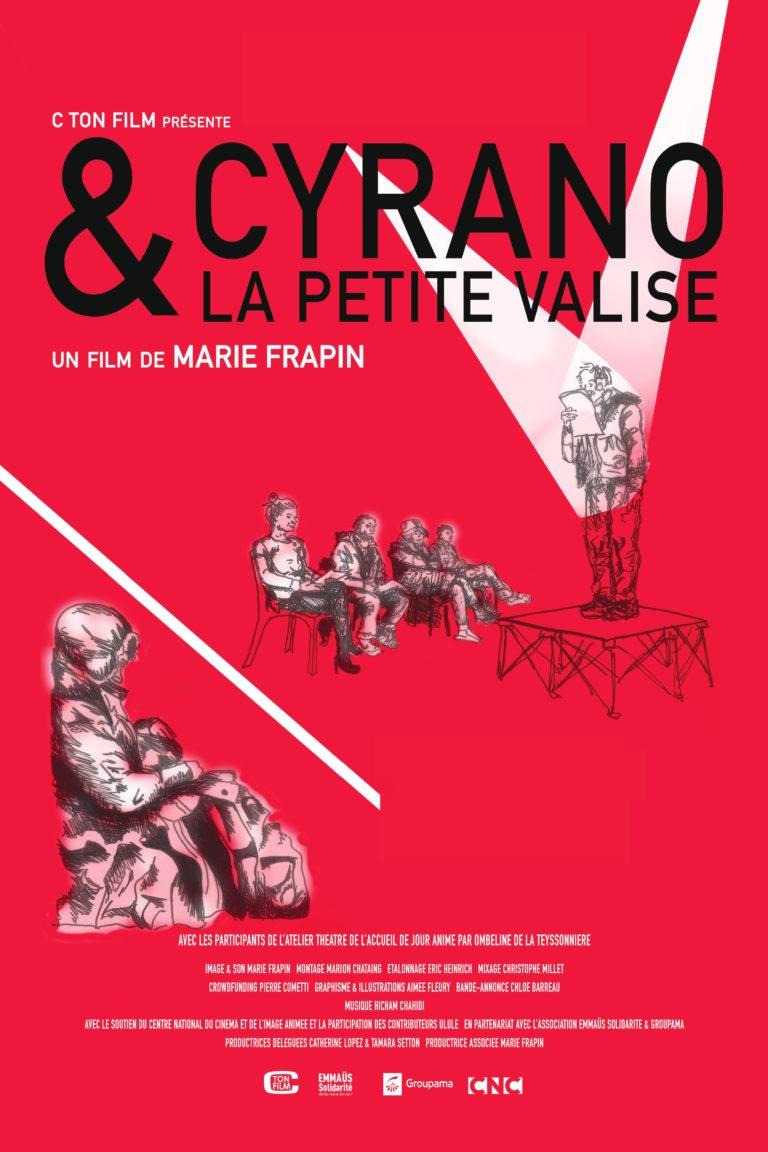 Affiche Cyrano et la petite valise